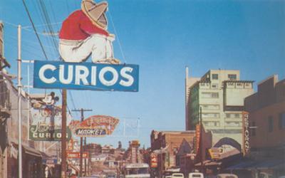 Calle Revolucion in Tijuana