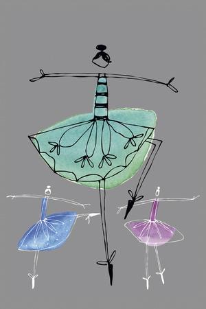 Pretty Ballerinas I