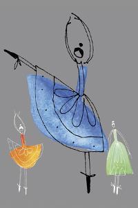 Pretty Ballerinas II by Callie Crosby and Rebecca Daw