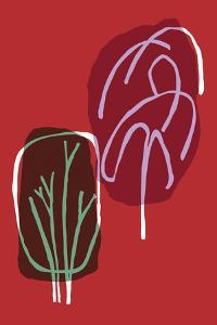 Tree Line I by Callie Crosby and Rebecca Daw