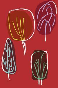 Tree Line II by Callie Crosby and Rebecca Daw