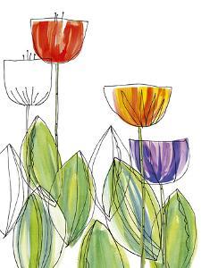 Tulip Skies I by Callie Crosby and Rebecca Daw