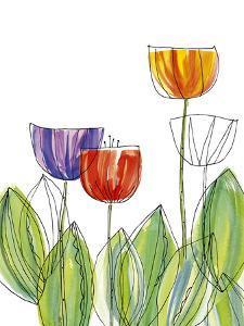 Tulip Skies II by Callie Crosby and Rebecca Daw