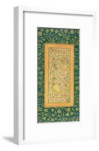Calligraphy by Mir Ali of Herat, with a Mughal Border, from the Minto Album