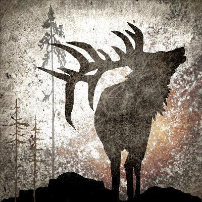 Calling Elk-LightBoxJournal-Giclee Print