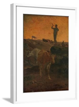 """/""""Calling the Cows Home/"""" c.1872 — Giclee Fine Art Print Jean-Francois Millet"""