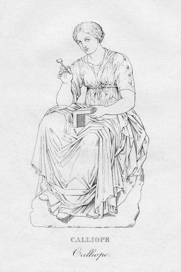 'Calliope', c1850-Unknown-Giclee Print