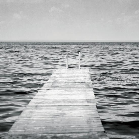 Calm Days I BW Crop-Elizabeth Urquhart-Photo