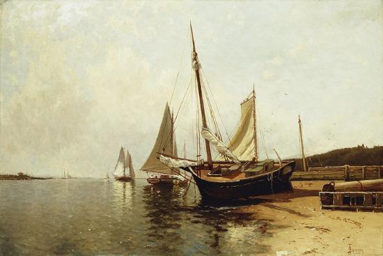 Calm Morning, Portland Harbor-Alfred Thompson Bricher-Giclee Print