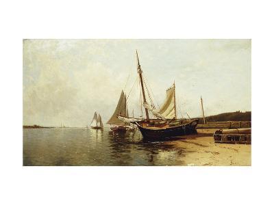 Calm Morning, Portland Harbor-Alfred Thompson Bricher-Giclee Print