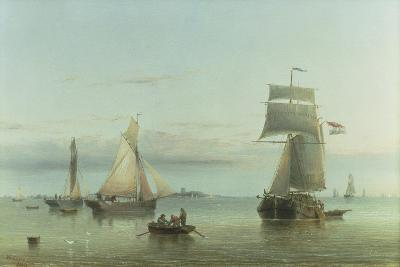 Calm on the Humber, 1864-Henry Redmore-Giclee Print