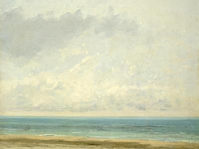 Calm Sea, 1866-Gustave Courbet-Giclee Print