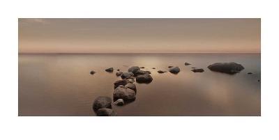 Calm Sea-Ian Winstanley-Art Print