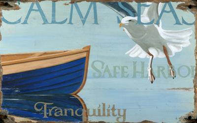 Calm Seas Wood Sign