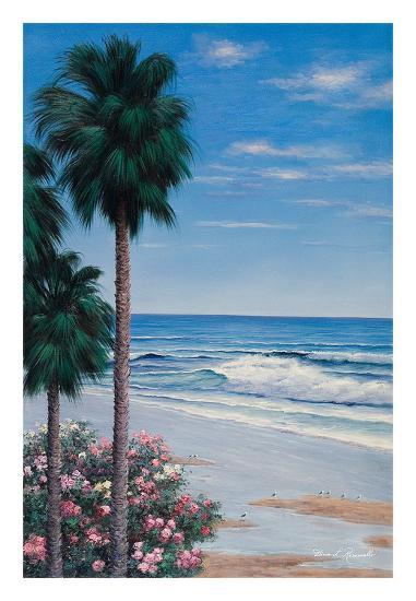 Calm Tropics-Diane Romanello-Art Print