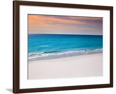 Calm White Pensacola Beach Vacation Spot-Joshua Whitcomb-Framed Photographic Print