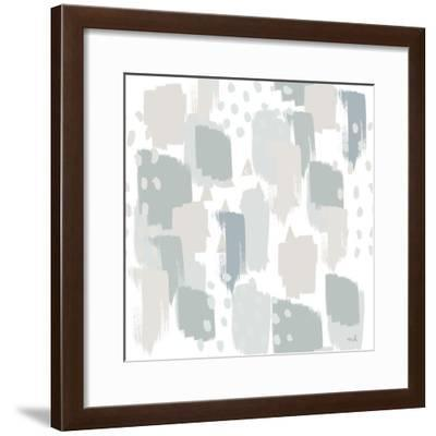 Calm World Map Pattern XII-Moira Hershey-Framed Art Print