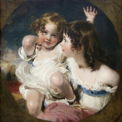 Calmady Children-Thomas Lawrence-Art Print