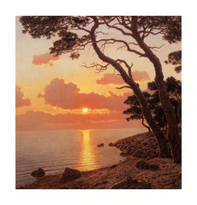 Calme du Sour, Cote d'Azur-Ivan Fedorovich Choultse-Art Print