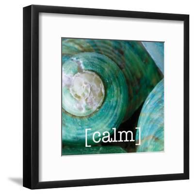 Calming Shells-Melody Hogan-Framed Art Print