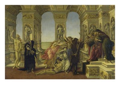 Calumny-Sandro Botticelli-Giclee Print