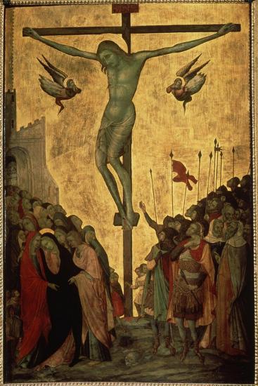 Calvary, 14th Century-Bartolommeo Bulgarini-Giclee Print