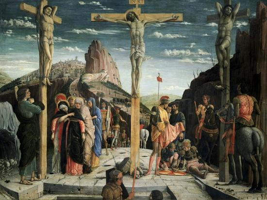 Calvary, c.1457-60-Andrea Mantegna-Giclee Print
