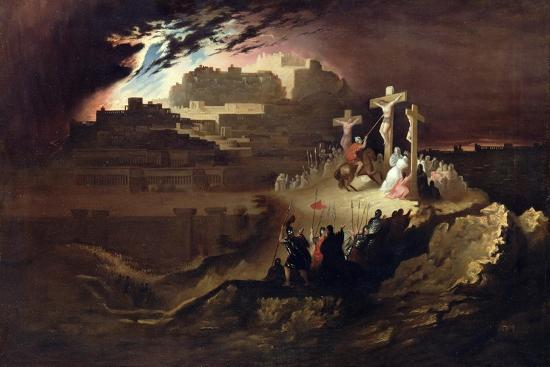 Calvary, C.1830-40-John Martin-Giclee Print
