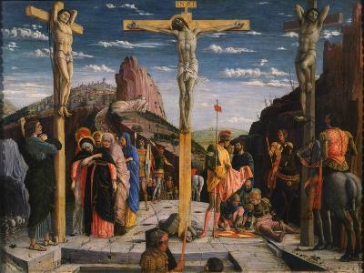 Calvary, Christ on the Cross-Andrea Mantegna-Giclee Print