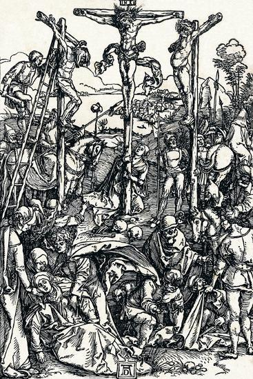 Calvary with the Three Crosses, 1504-Albrecht D?rer-Giclee Print