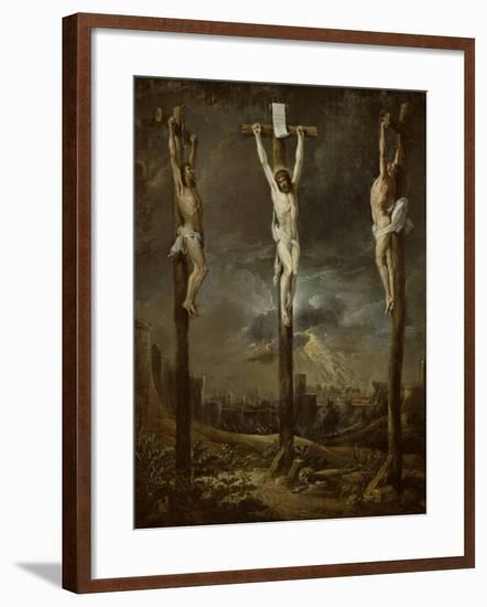 Calvary-David Teniers the Younger-Framed Giclee Print