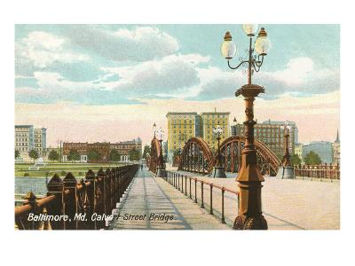 Calvert Street Bridge, Baltimore, Maryland--Art Print