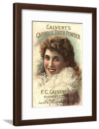 Calvert Toothpaste, UK, 1890--Framed Giclee Print
