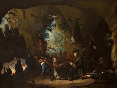 Calvin in Hell-Egbert van Heemskerk the Younger-Giclee Print
