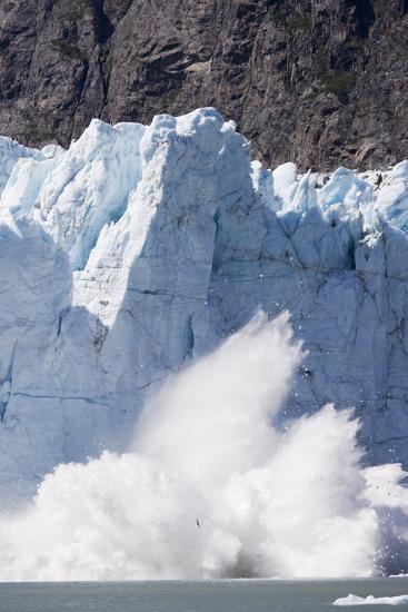 Calving Glacier in Glacier Bay National Park-Paul Souders-Photographic Print