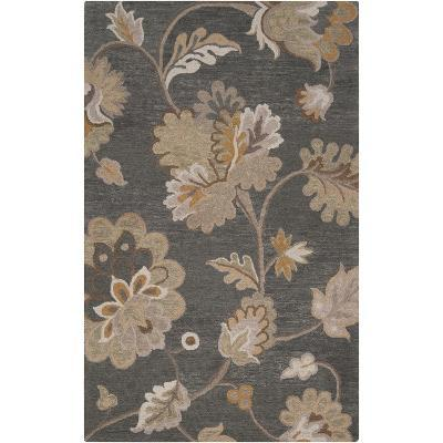 Calypso Area Rug - Charcoal/Taupe 5' x 8'--Home Accessories