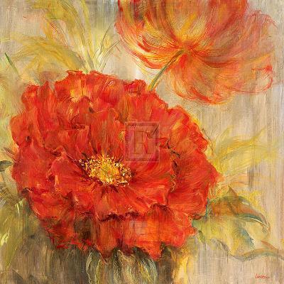 Calypso Reds I-Liv Carson-Art Print