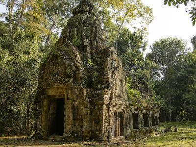 Cambodia, Angkor Wat. Small Temple-Matt Freedman-Photographic Print
