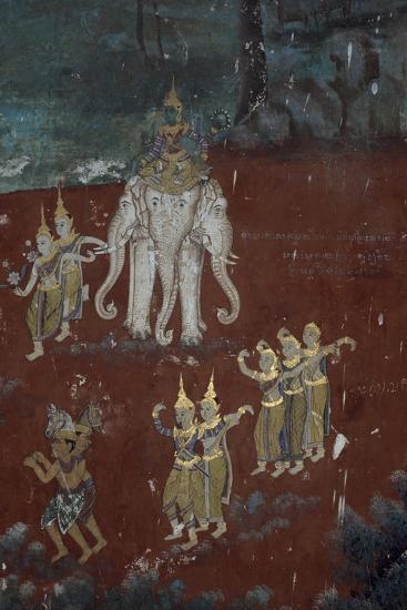 Cambodia, Phnom Penhs in Silver Pagoda--Giclee Print