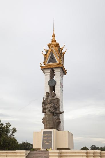 Cambodia Vietnam Friendship Monument, Phnom Penh, Cambodia--Giclee Print