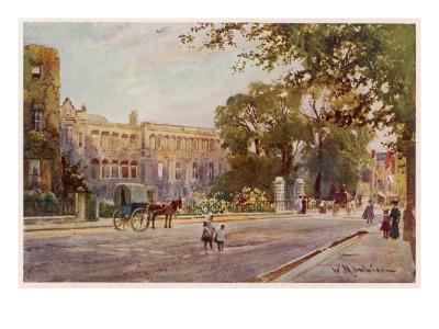 Cambridge: Addenbrooke's Hospital in Trumpington Street--Giclee Print