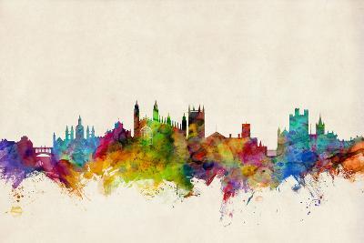 Cambridge England Skyline-Michael Tompsett-Art Print