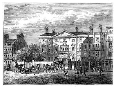 Cambridge House, Piccadilly, London, 1854--Giclee Print