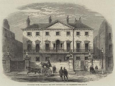 Cambridge House, Piccadilly, the Town Residence of Lord Palmerston--Giclee Print