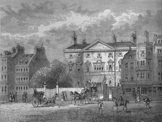 Cambridge House, Westminster, London, c1854 (1878)-Unknown-Giclee Print