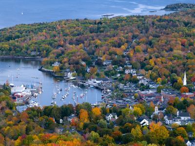 Camden, Maine, USA-Alan Copson-Photographic Print