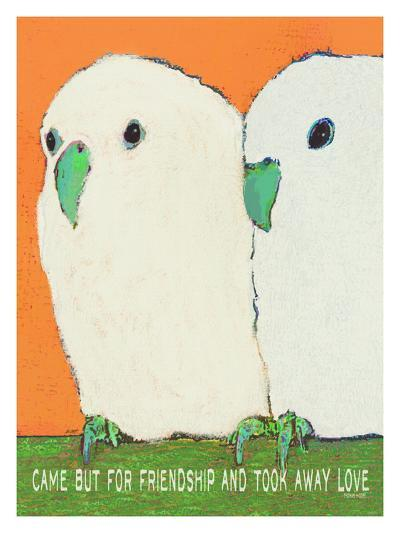 Came But For Friendship-Lisa Weedn-Giclee Print