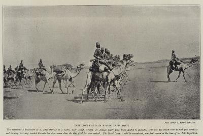 Camel Corps at Wadi Halfeh, Upper Egypt--Giclee Print