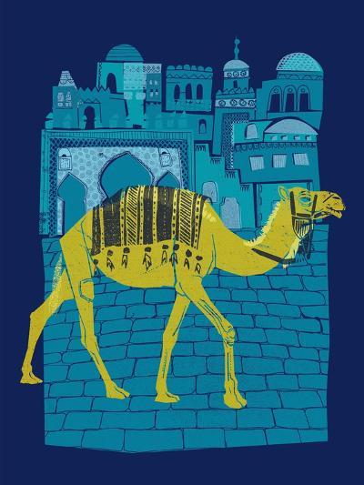 Camel Fes--Giclee Print