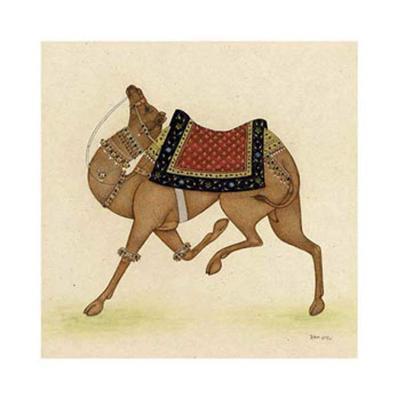 Camel from India I-Ram Babu-Giclee Print